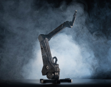 The Dexter 3D printed robot arm