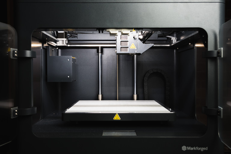 Inside the Metal X metal 3D printer