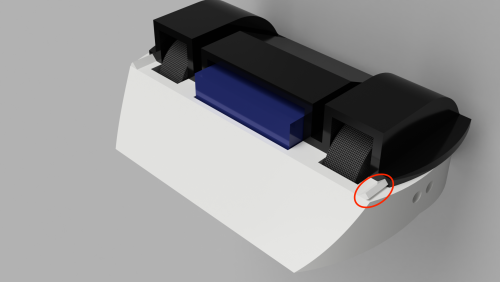 Using as little fasteners as possible helps reduce weight on antweight robots, so 3D printed joinery is my workaround.