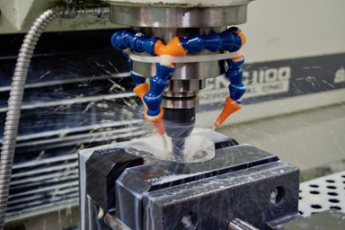 post machining a 3d printed metal part