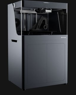 Front view of the Markforged X7 industrial 3D printer