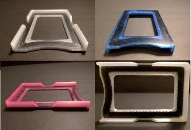 Dyeing Markforged parts - carabineers