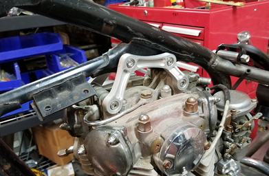 Motorcycle Motor Mount