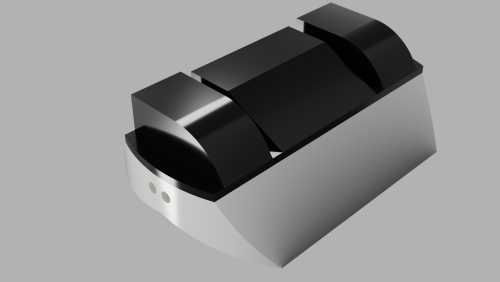 antweight robots can't weigh more than a pound, so the Mark Two is perfect for this application.