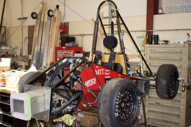 The Race to the Finish with 3D Printed Formula SAE Vehicle Parts