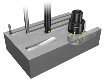 Cutting tools all have a minimum possible width, just like our fiber routing printer.