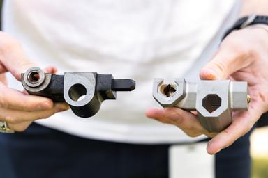 metal 3D printed parts
