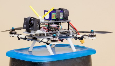 Part of the Week — Samrat's Quadcopter