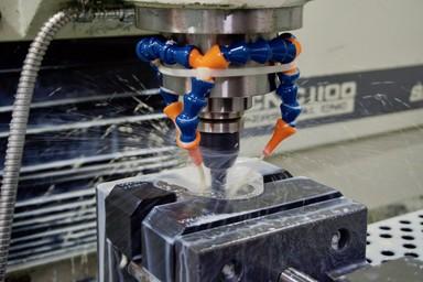 machining metal 3D printed parts