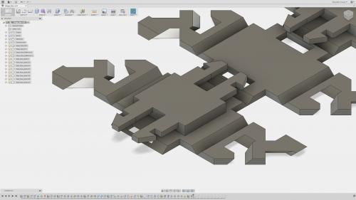 Design process for a fiber-reinforced living hinge.