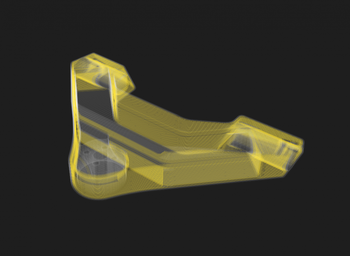 Reinforcing 3D Printed Parts with Efficient Fiber Routing: Part 1