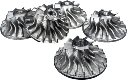 3D printed stainless steel impeller