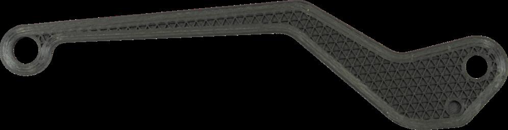 Carbon fiber brake lever