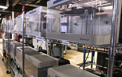 Behind the Scenes: The Markforged Print Farm