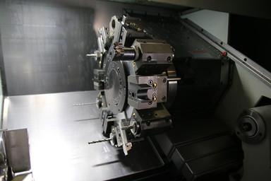 CNC Lathe Bar Puller