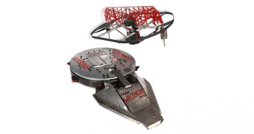 Warrior also uses a flywheel flipper.
