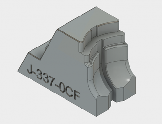 Engrave text in CAD by typing out text in a sketch and extrude-cutting the text into the face of the part.