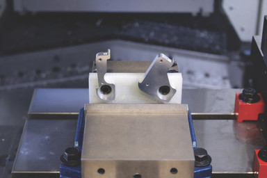 The Mark One used to make 3D printed tooling fixtures.