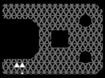 3D printing triangular infill pattern
