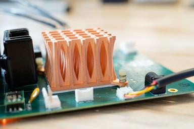 3D printed Copper Heat Sink