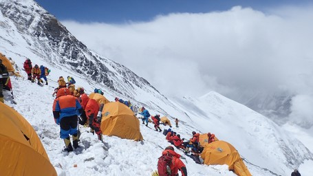 The arduous climb up Mount Everest was difficult, but was aided by the addition of custom 3D printed parts