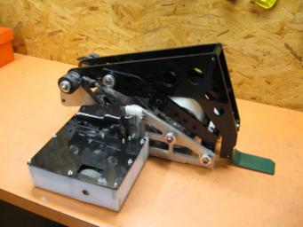 Magneato has a lightweight flywheel powered flipper.