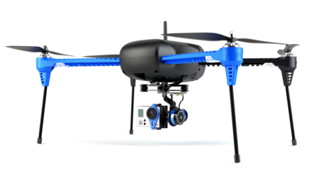 We will replace this drone with 3D printed parts.
