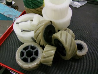 Gaining Traction with Markforged: Overmolding and Casting 3D Printed Wheels