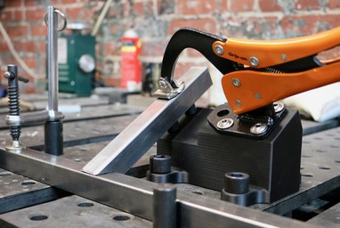 Designing High Strength Workholding with Composite 3D Printing