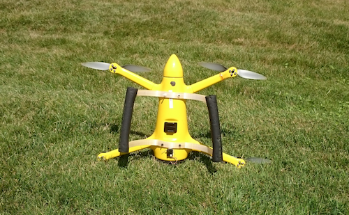 3D printed Kevlar reinforced landing gear to help drones land in rough conditions.