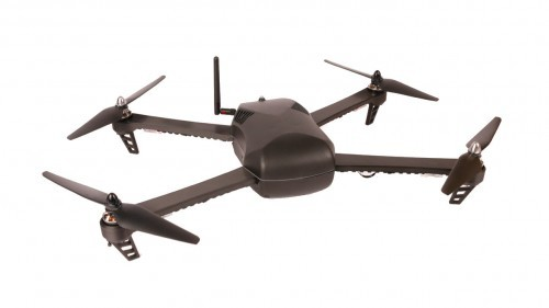 Top view of 3d printed drone