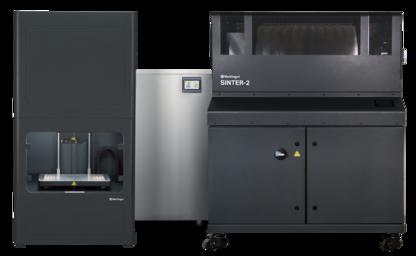 The Metal X 3D Printer, Sinter-2 furnace, and Wash-1 washing station