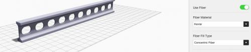 Eiger composite fiber reinforcement